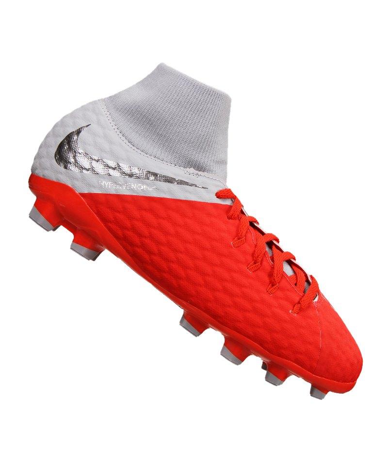 Nike Jr Hypervenom Phantom III Academy DF FG Kids F600 - rot e0608f25b68ce