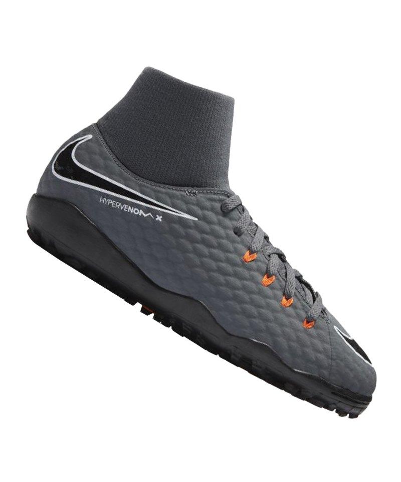 promo code 6f40b 4d6eb Grau Stiefel Schwarz Fußball Nike Hypervenom Phantom Iii Df Tf Indoor  Cleats Sehr Gut - sommerprogramme.de