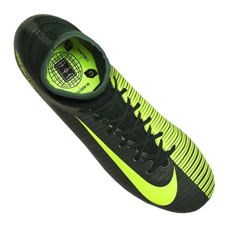 Nike Jr Mercurial Superfly V CR7 FG Kids Grün F376 ...