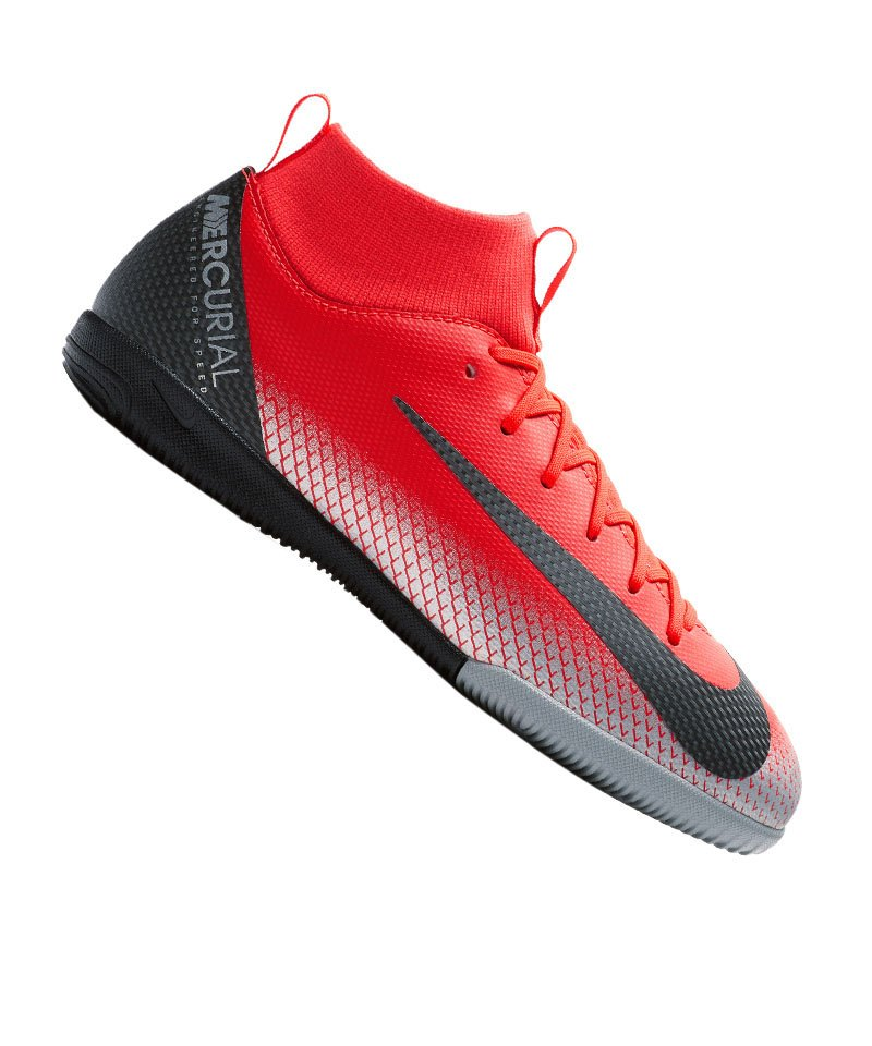 Nike Superfly 6 Club Cr7 Ic Hallenschuhe Kinder Rot