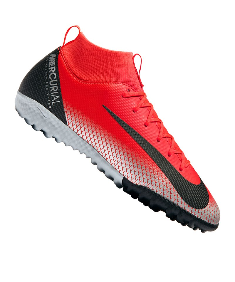 84ccaff51efb ... ronaldo cr7 tf 2018 world cup soccer shoes silver black 92eca 800d7  coupon for nike jr mercurial superfly vi academy cr7 tf kids f600 rot 36323  e54eb ...