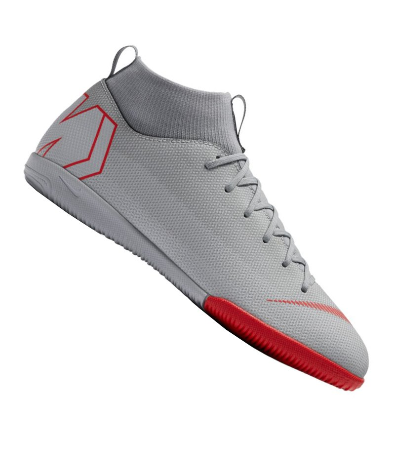 06782d8818a5 Nike Jr Mercurial SuperflyX VI Academy IC GS Kids F060 - Grau