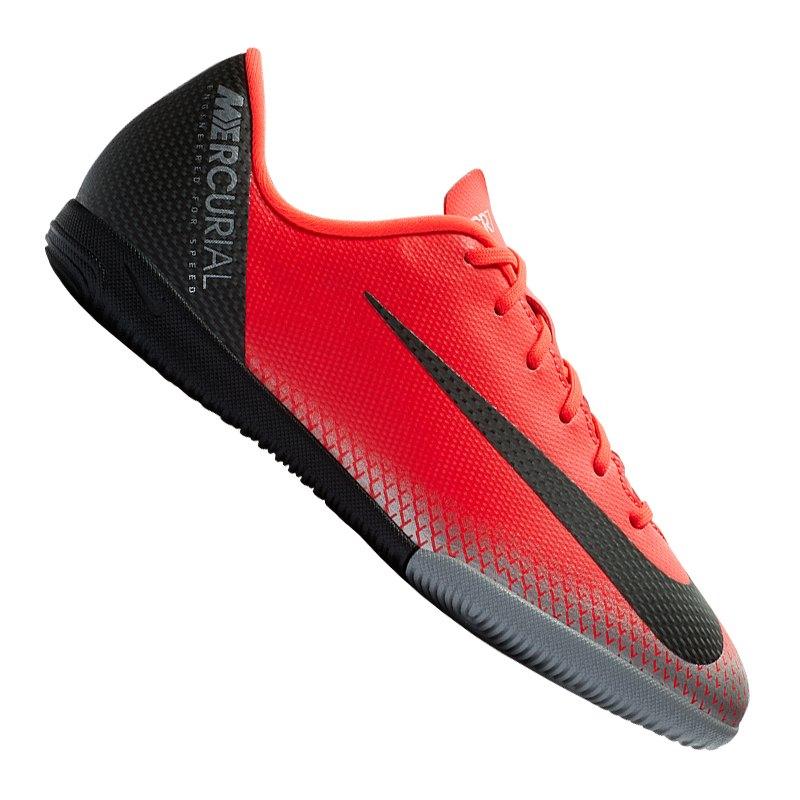 100% jakości buty do biegania miło tanio Nike Mercurial VaporX XII Academy CR7 IC Kids F600