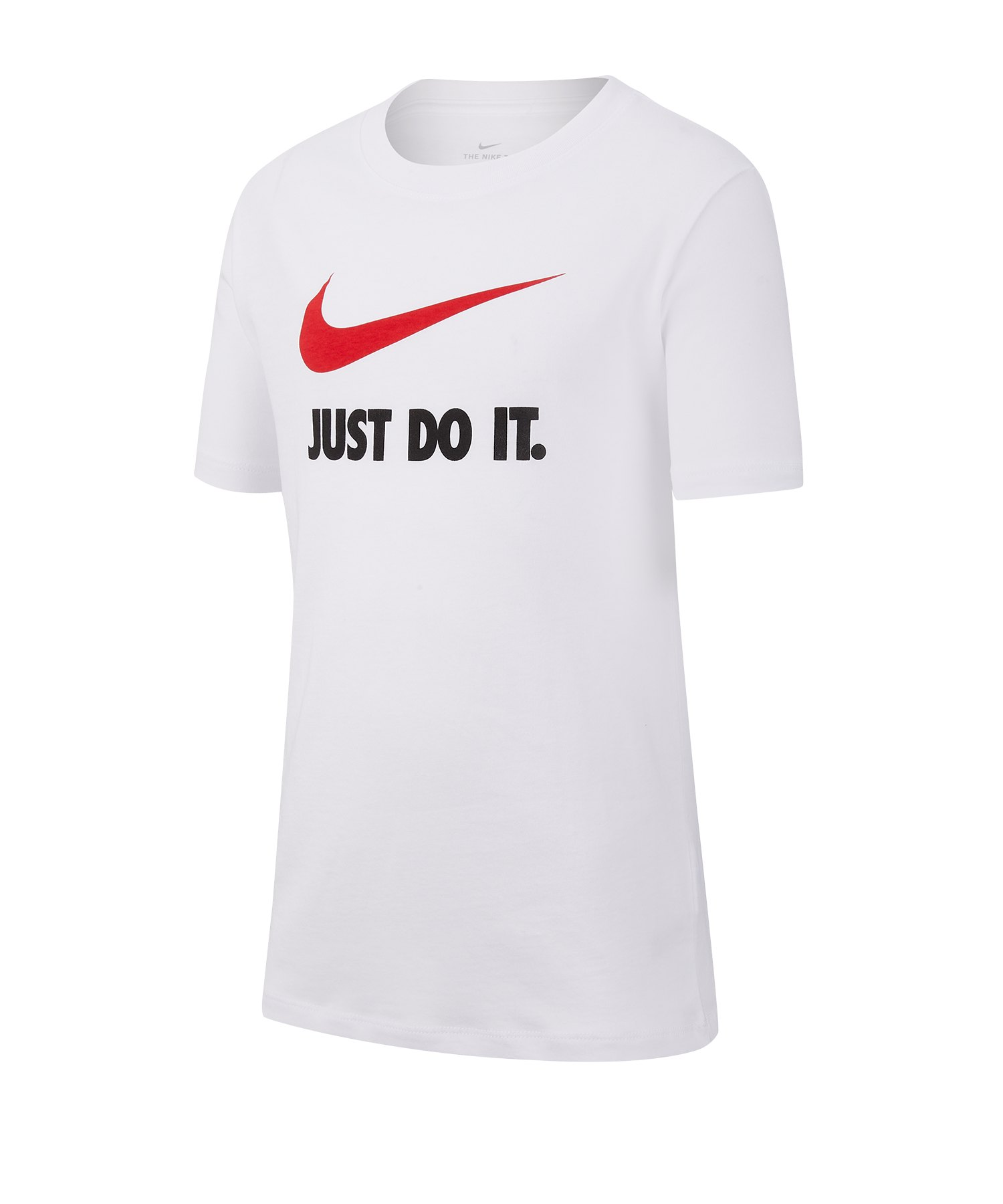 Nike Just Do It Tee T Shirt Weiss F100