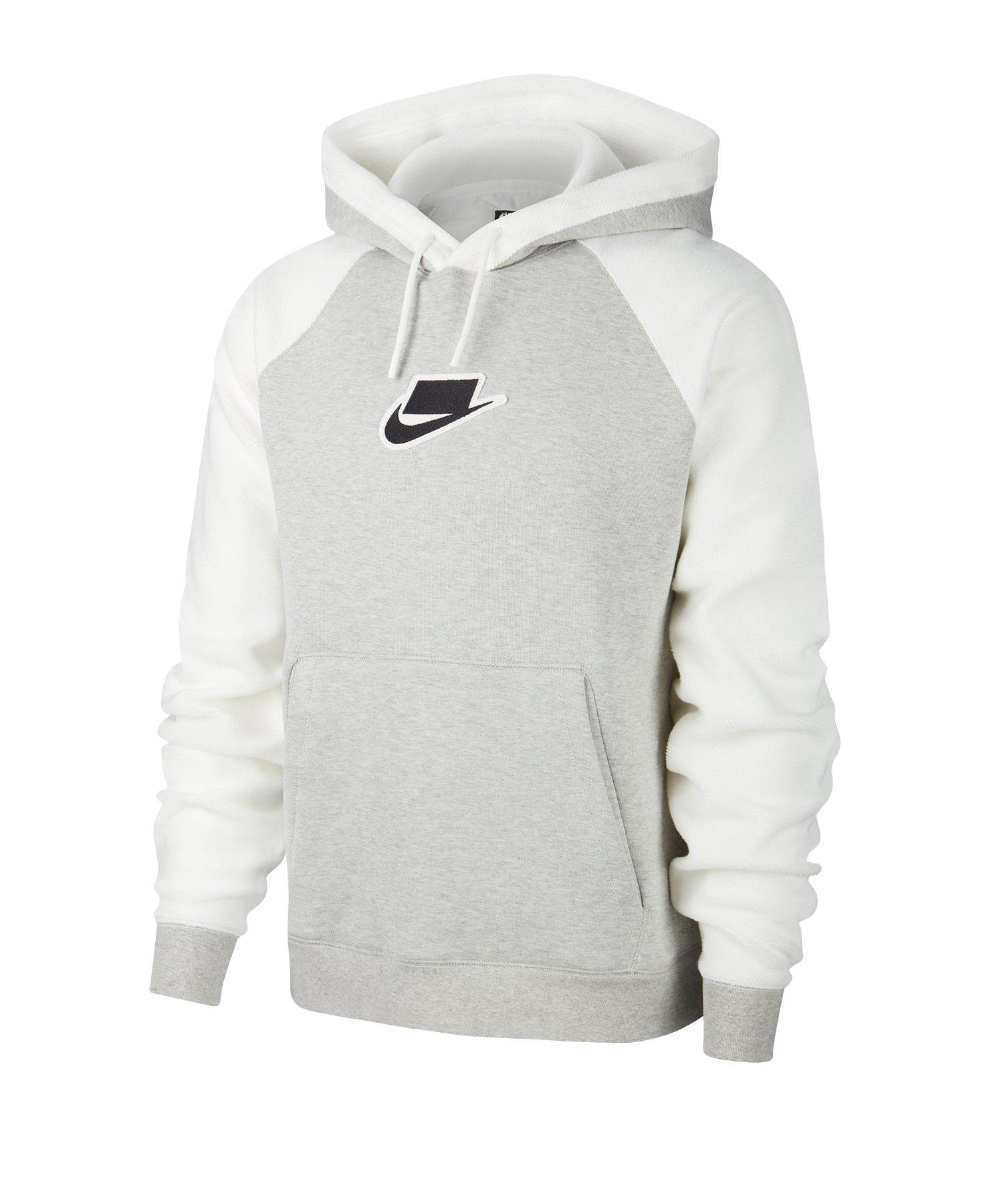 Nike Hoodie Basic grau