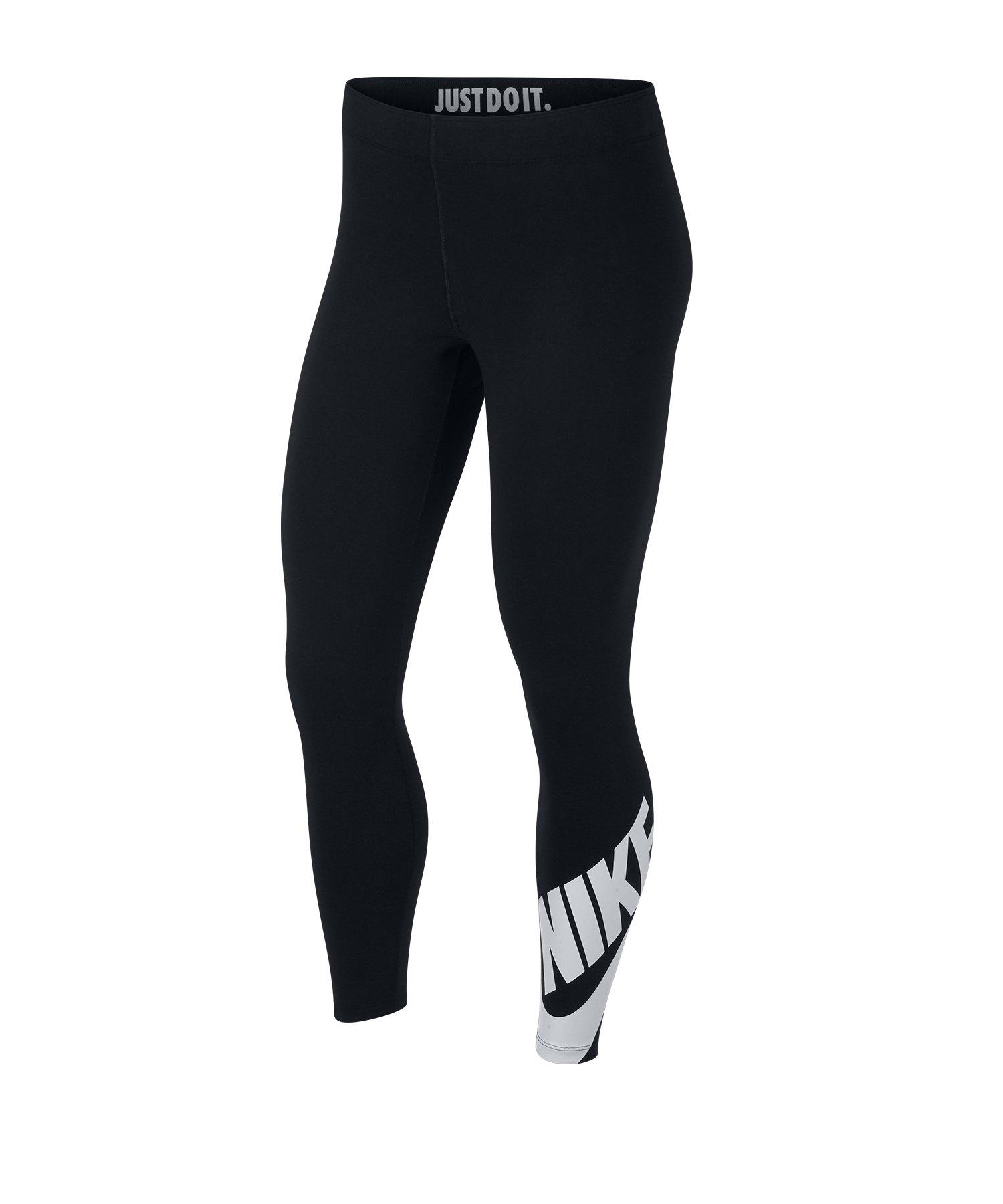 a8ad1fd92abe69 Nike Leg-A-See 7/8 Leggings Damen Schwarz F010 |Strasse | Textilien ...