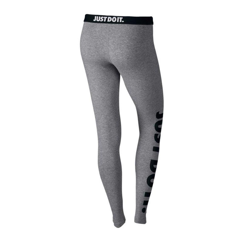 nike leg a see jdi leggings damen grau f092 hose lifestyle freizeit training frauen. Black Bedroom Furniture Sets. Home Design Ideas