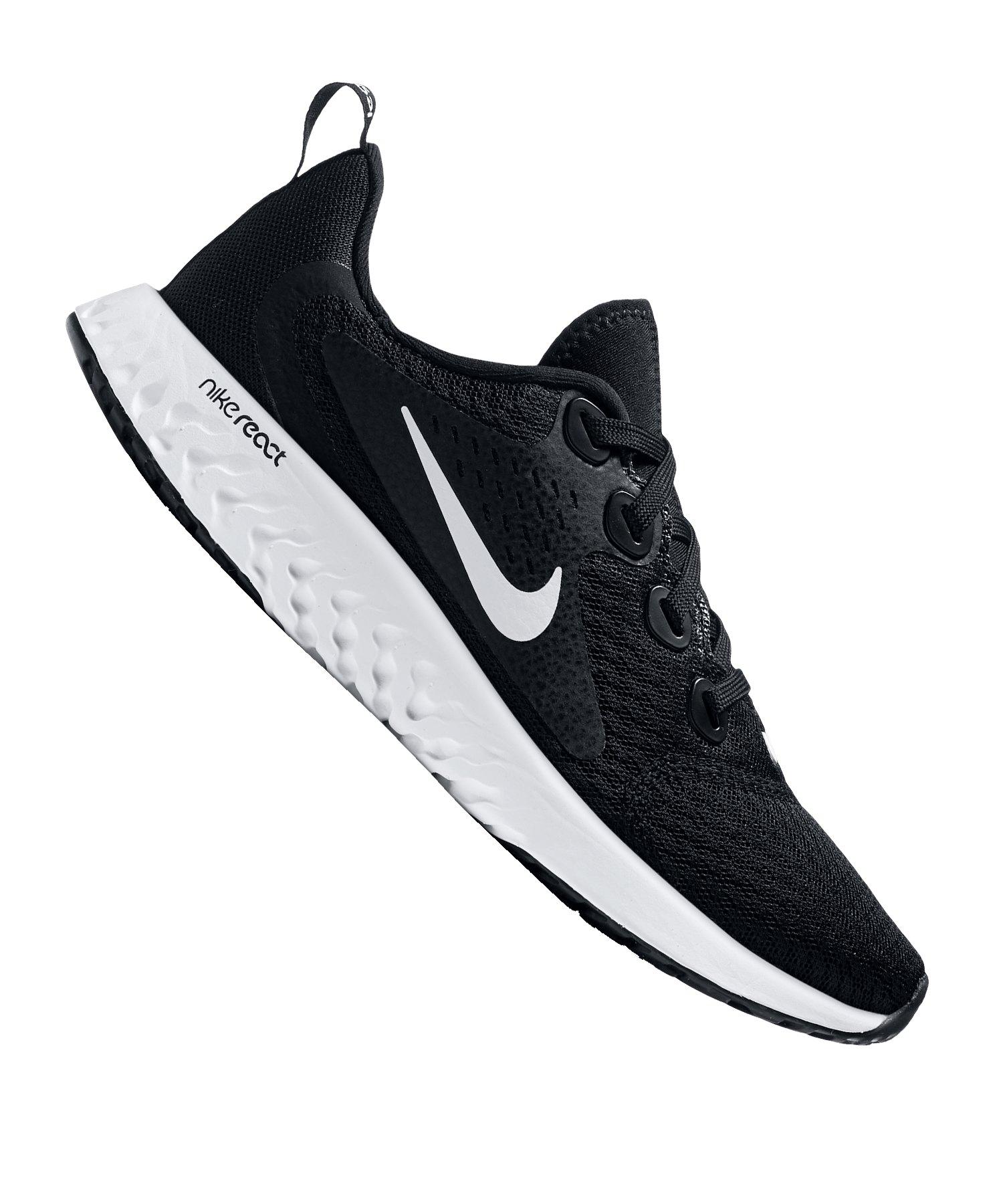 competitive price 53073 b79d7 Nike Legend React Running Kids Schwarz Weiss F001 - schwarz