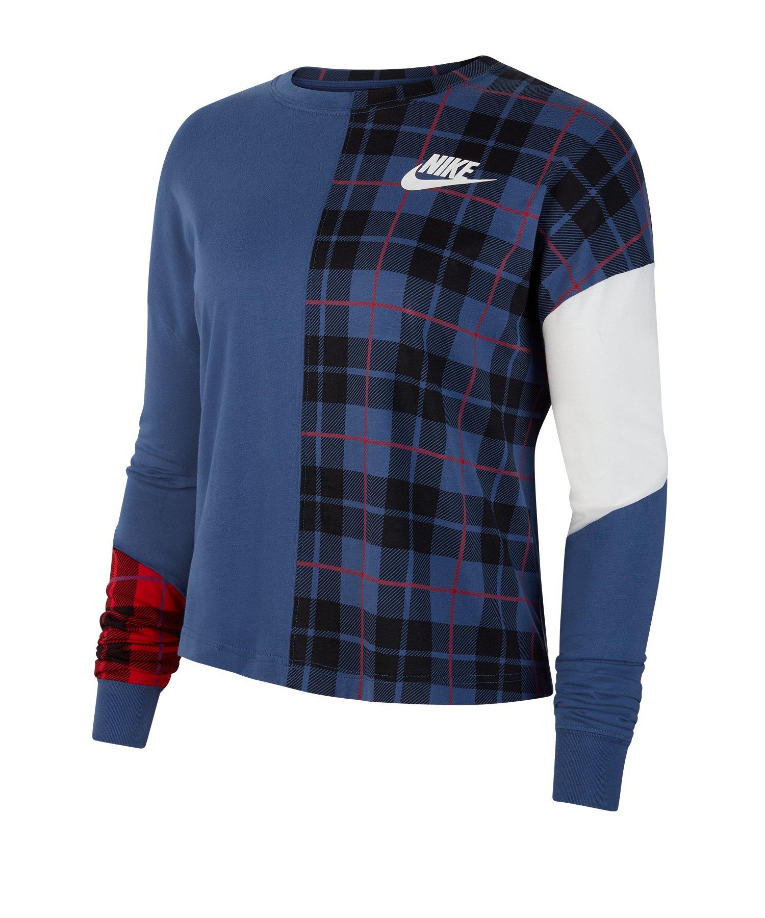 new photos c2c81 94fed Nike Longsleeve Sweatshirt langarm Damen F469