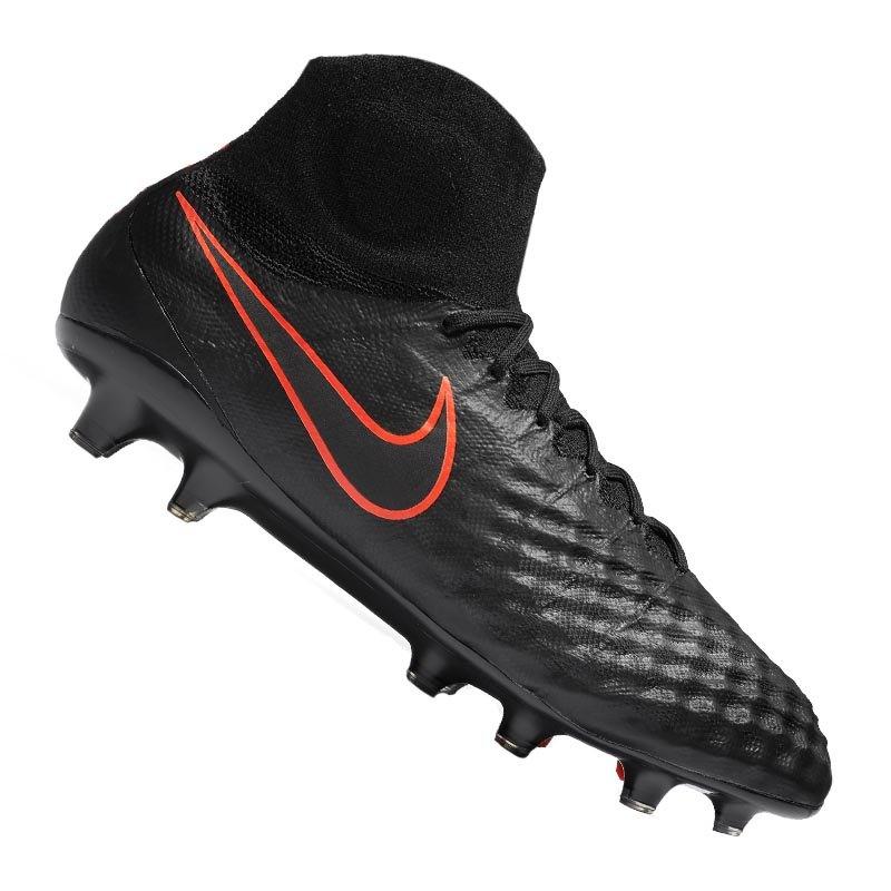 online retailer 31a33 2b3c7 Nike Magista Obra II FG Schwarz F008 - schwarz