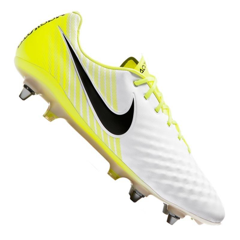 save off acf38 2fc29 Nike Magista Opus II SG-Pro Weiss Gelb F107 - weiss