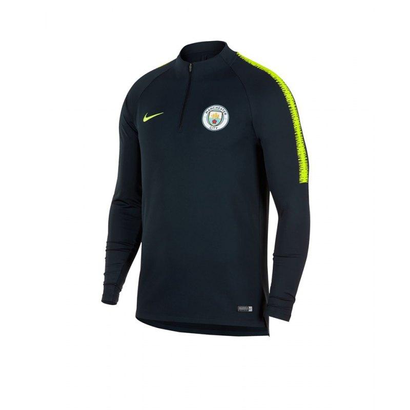 Nike Manchester City FC Drill Top Blau F475