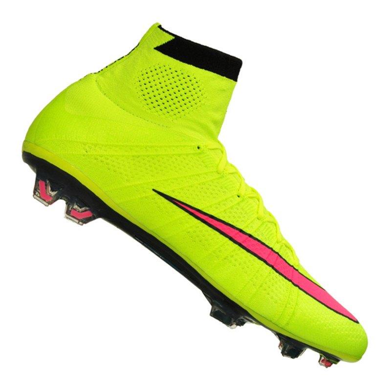 Nike Mercurial Superfly FG Gelb Pink F760 - gelb