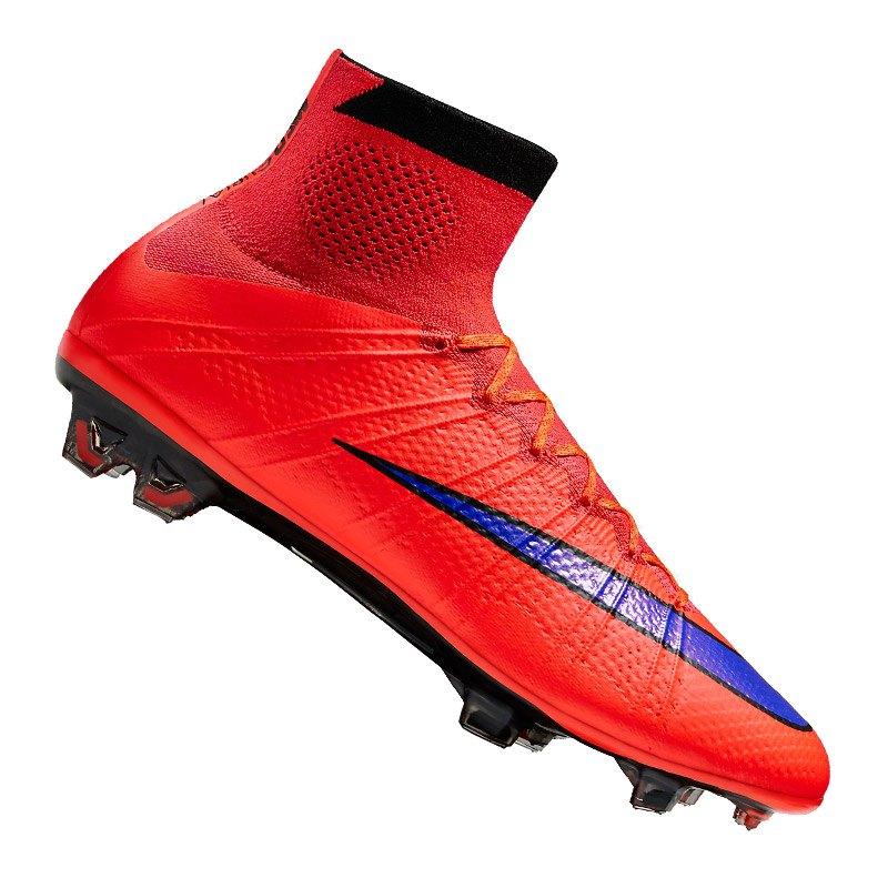 Nike Mercurial Superfly FG Rot Blau F650 - rot