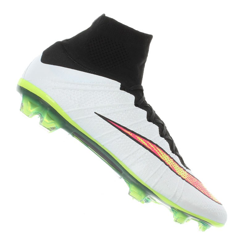 Nike Mercurial Superfly FG Weiss F170 - weiss
