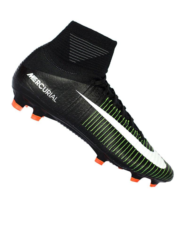 innovative design f06c7 3c49d Nike Jr Mercurial Superfly V FG Kids Schwarz F013 - schwarz
