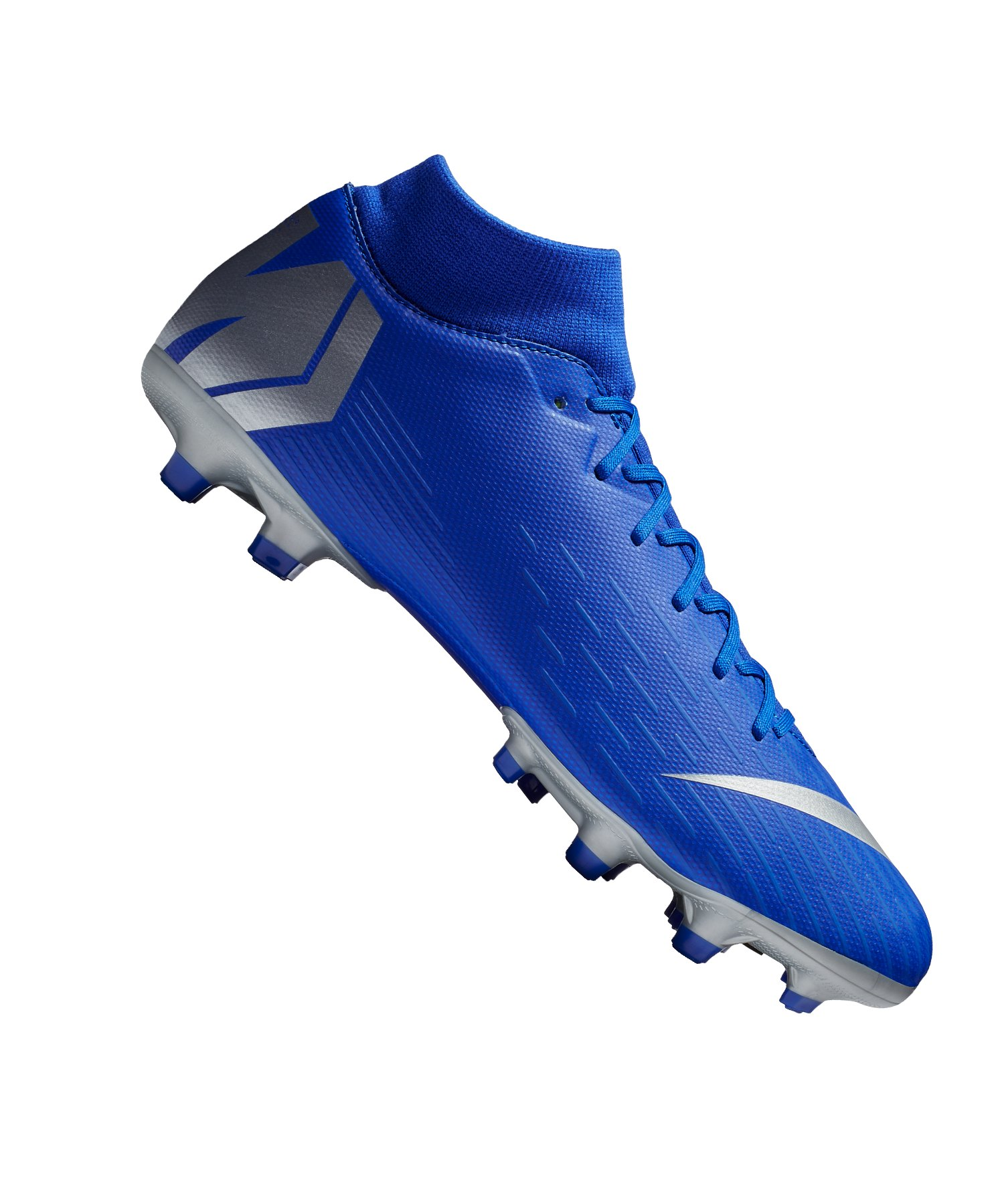 e75f2978370b54 Nike Mercurial Superfly VI Academy MG Blau F400 - blau