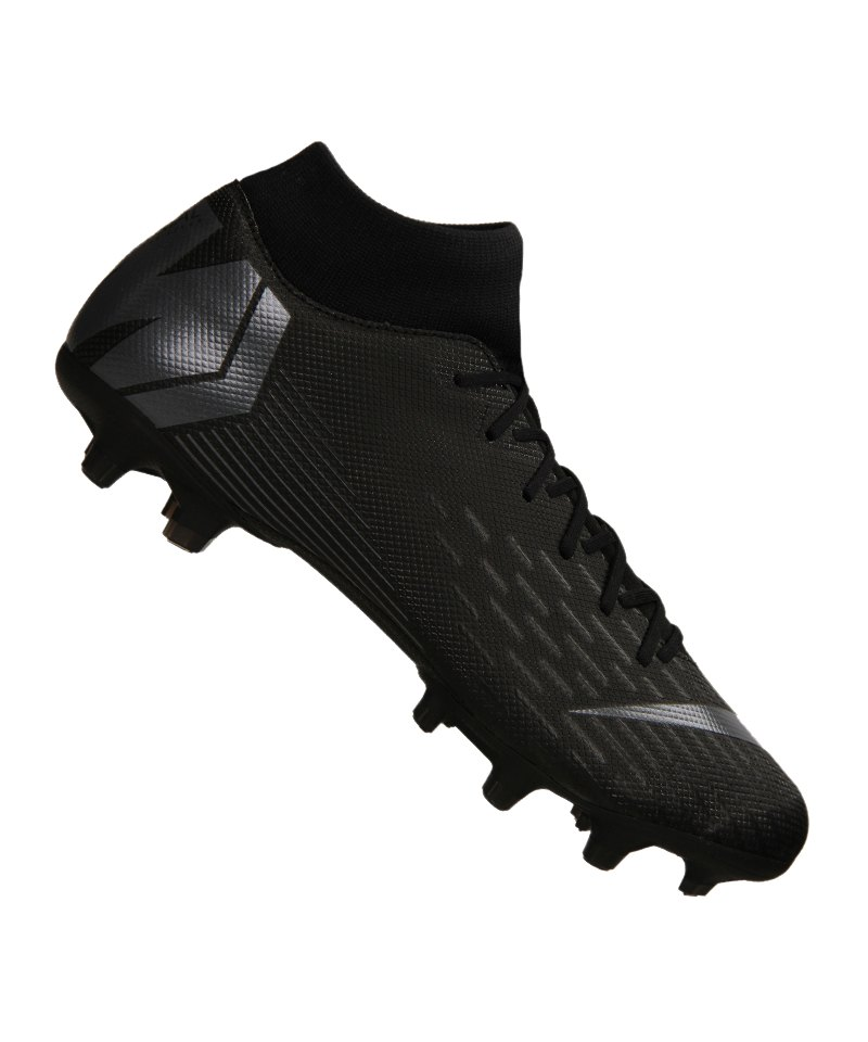 new product 83a89 f2e6a Nike Mercurial Superfly VI Academy MG Schwarz F001 | Rasen | Nocken ...