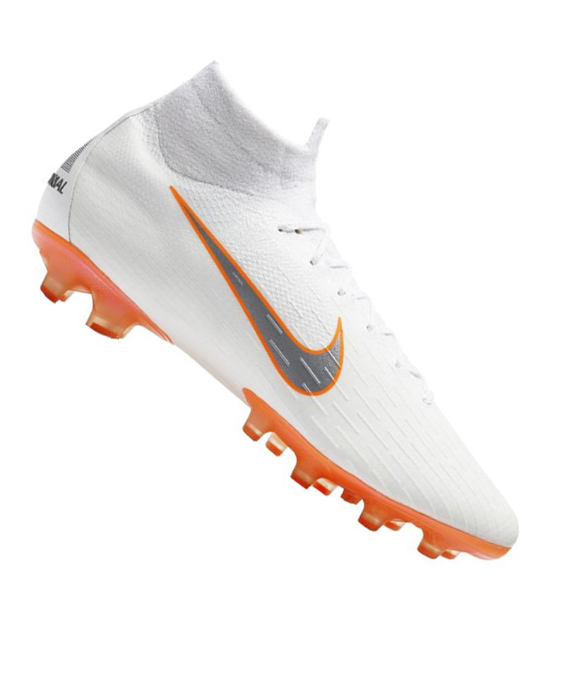 huge selection of c8624 5cfd5 Nike Mercurial Superfly VI Elite AG-Pro F107 - weiss