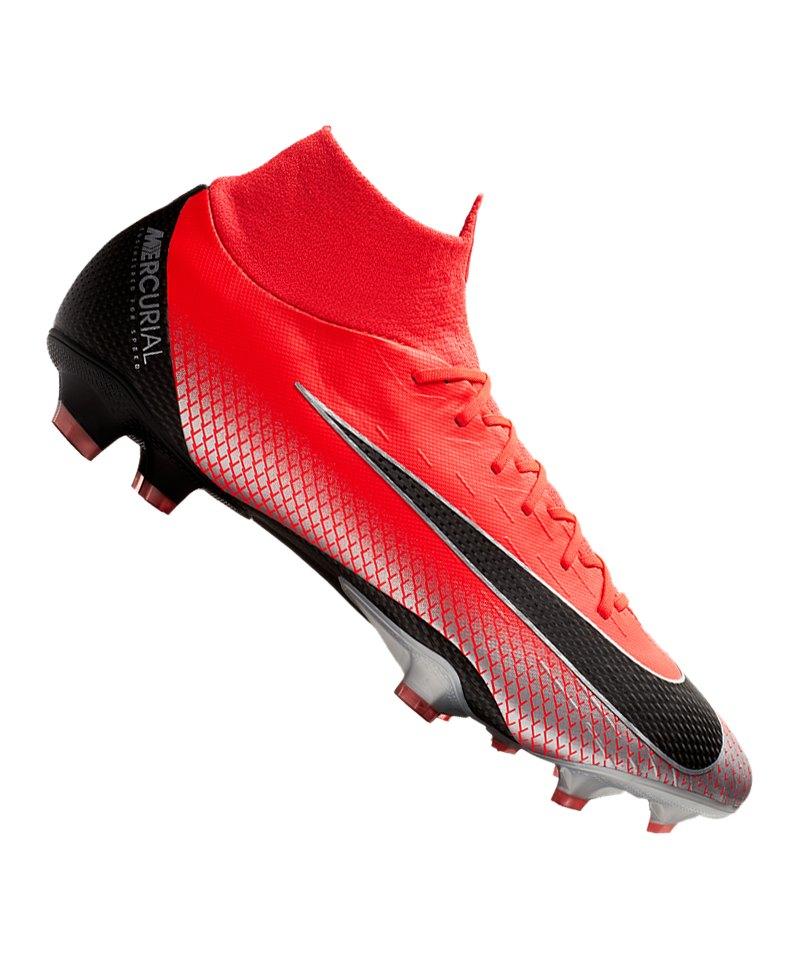 diversifiziert in der Verpackung erstklassige Qualität schöner Stil Nike Mercurial Superfly VI Pro CR7 FG Rot F600