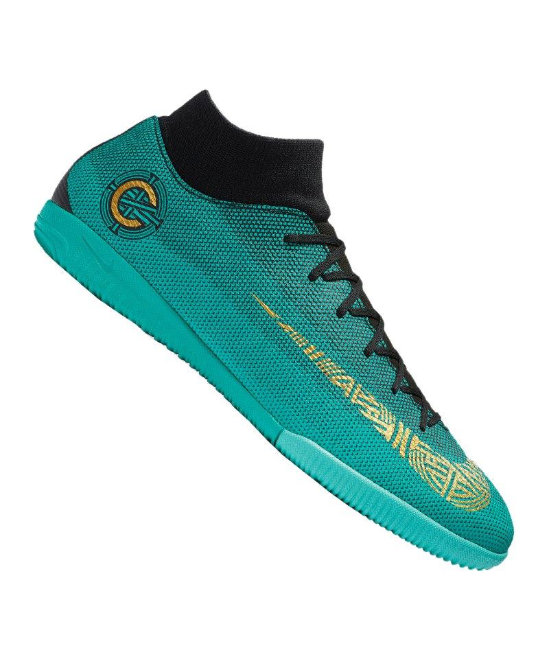 Farbbrillanz Original kaufen billig für Rabatt Nike Mercurial SuperflyX VI Academy CR7 IC F390