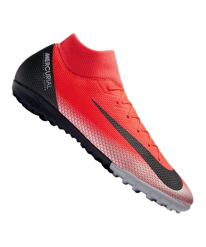 47c8cbb4bc4d Nike Mercurial SuperflyX VI Academy CR7 TF F600 - rot