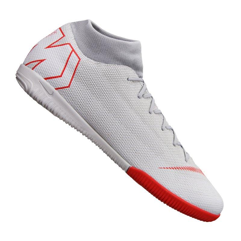 half off 48e7d 4f8e6 Nike Mercurial SuperflyX VI Academy IC Grau F060 - grau