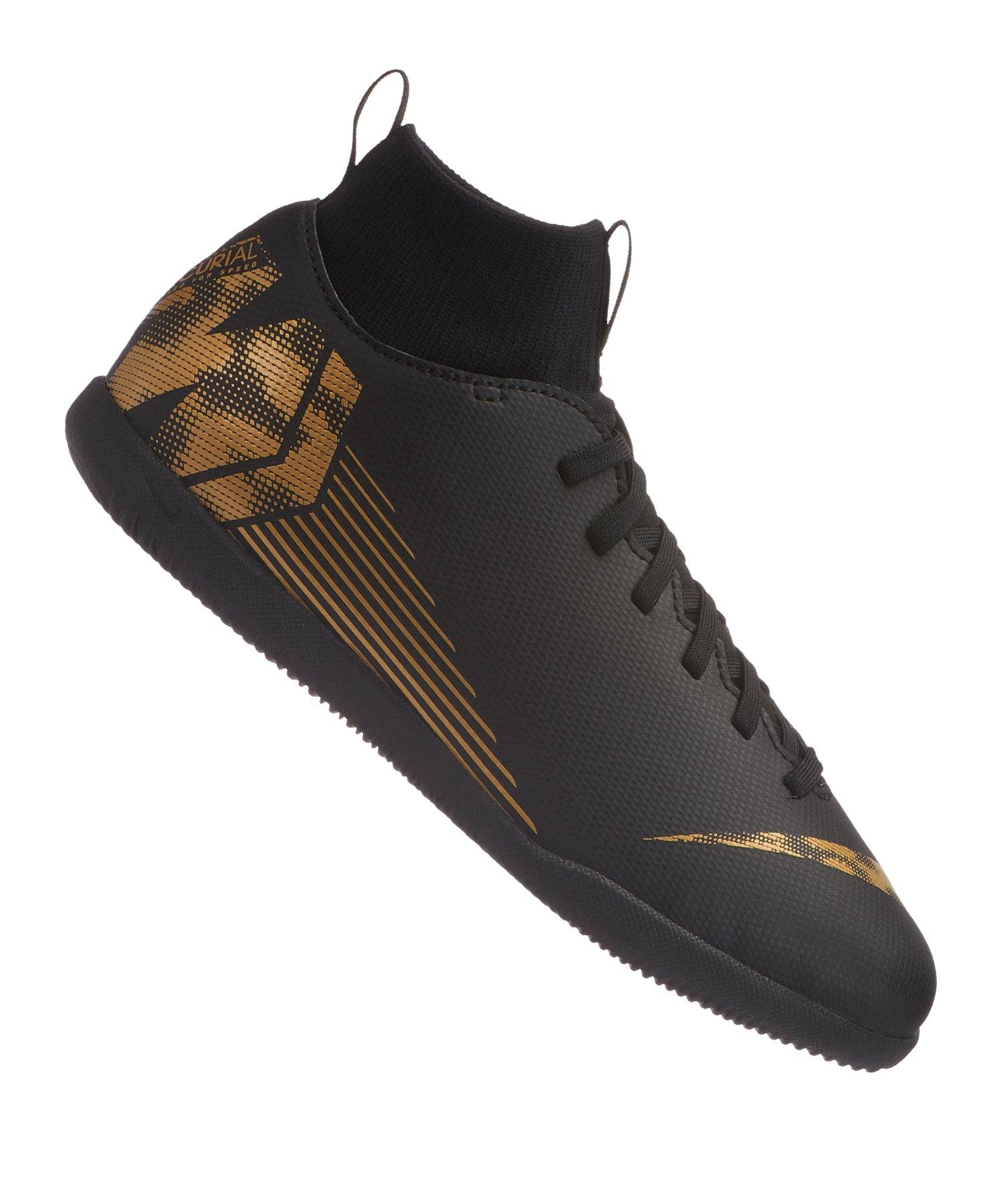 252fef5153ef Nike Mercurial SuperflyX VI Club IC Kids F077 - schwarz