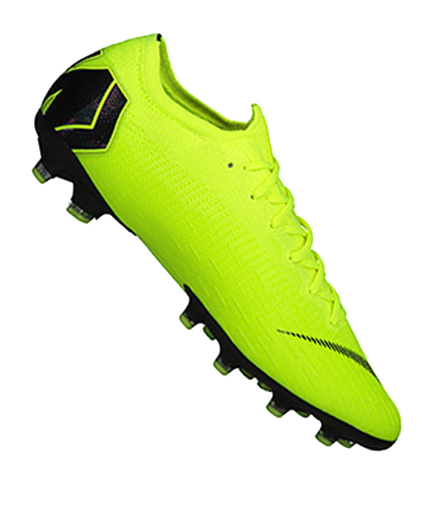 54166d00b0 Nike Mercurial Vapor XII Elite AG-Pro Gelb F701 | Cleets ...
