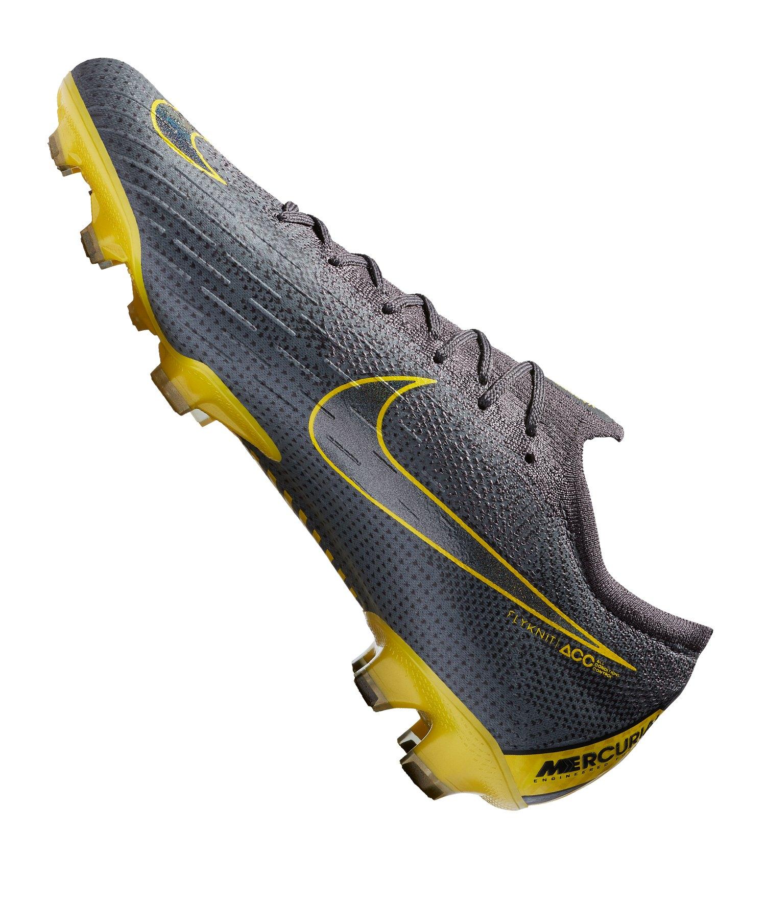 7dc0bcd0c ... Nike Mercurial Vapor XII Elite FG Grau F070 - grau ...