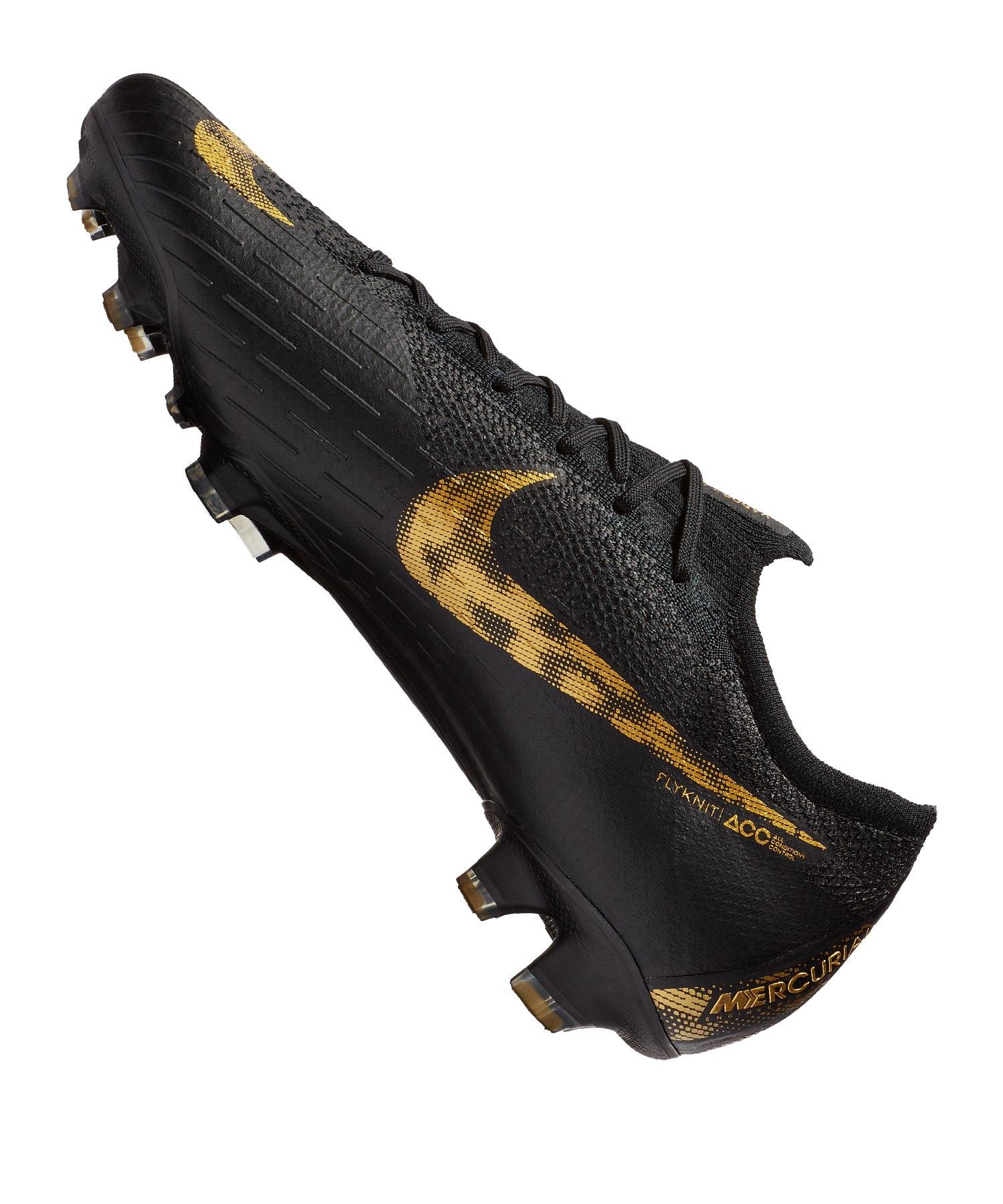 huge selection of 015c3 3f3ea ... Nike Mercurial Vapor XII Elite FG Schwarz F077 - schwarz ...