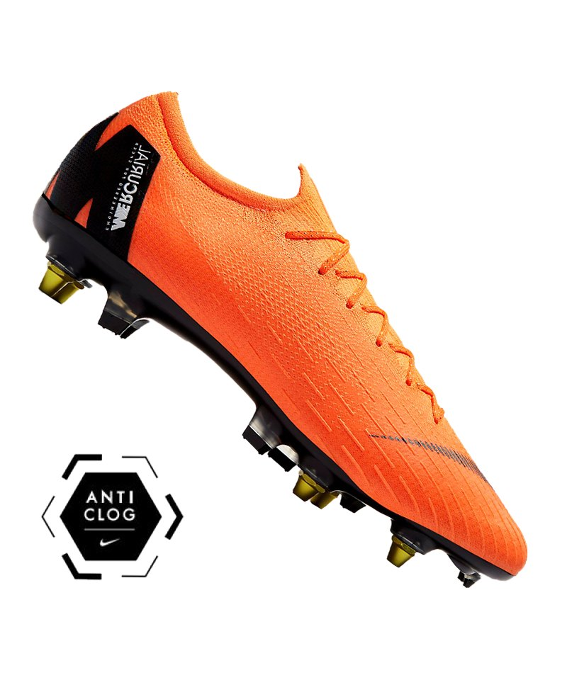 nike mercurial vapor xii elite sg pro orange f810. Black Bedroom Furniture Sets. Home Design Ideas