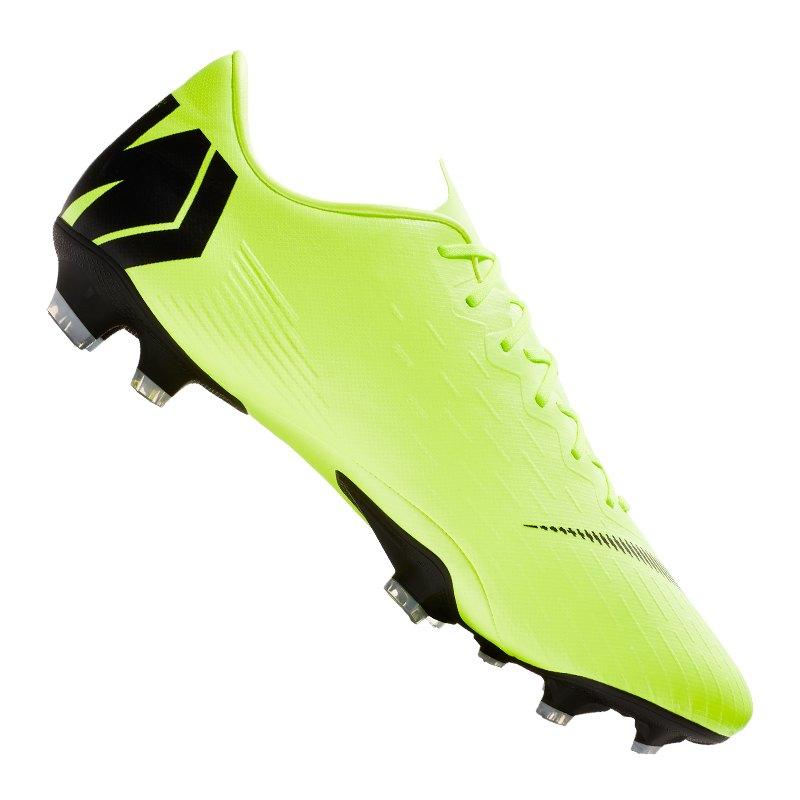 e7892bc55 Nike Mercurial Victory VI AG Fußballschuhe Orange Schwarz Gelb ... new  style b6ca1 14db1 Nike Mercurial Vapor XII Pro FG Gelb F701 - gelb