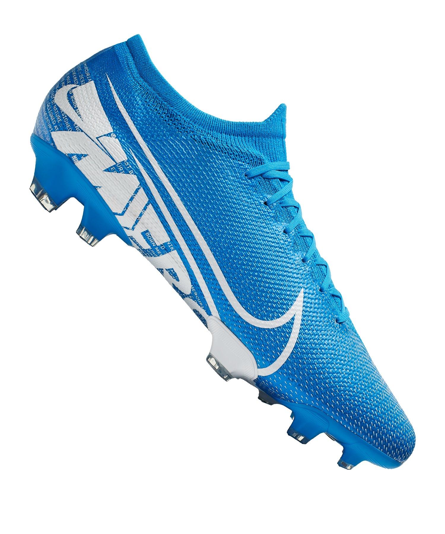 suche nach original exzellente Qualität billig werden Nike Mercurial Vapor XIII Pro FG Blau Weiss F414