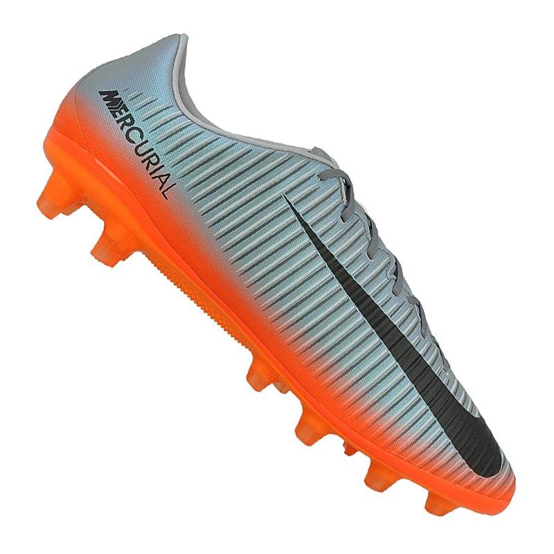 outlet store 90fa0 7817a Nike Mercurial Veloce III CR7 AG-Pro Grau F001 - Grau