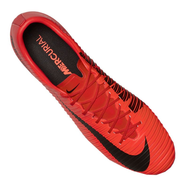 2b7ff3a9faa ... Nike Mercurial Veloce III FG Rot Schwarz F616 - rot ...