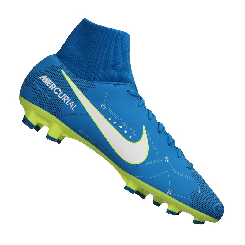 pretty nice 5bade a7b83 Nike Mercurial Victory VI NJR DF FG Blau F400 - blau