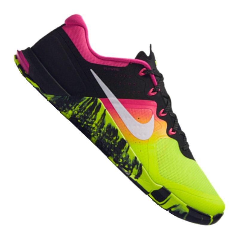 Nike Metcon 2 Training Gelb Schwarz F701 - gelb