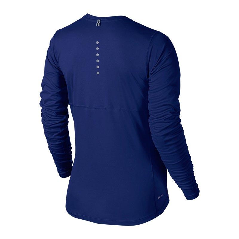 nike miler longsleeve shirt running damen f455 langarm. Black Bedroom Furniture Sets. Home Design Ideas