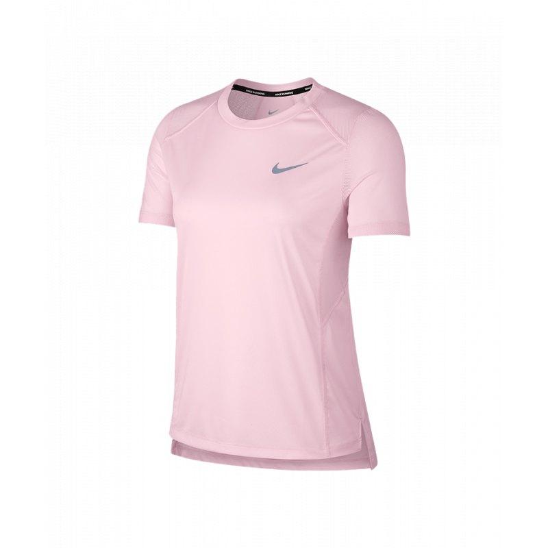 2dd3db483a147 Nike Miler Top T-Shirt Running Damen Pink F632 - pink