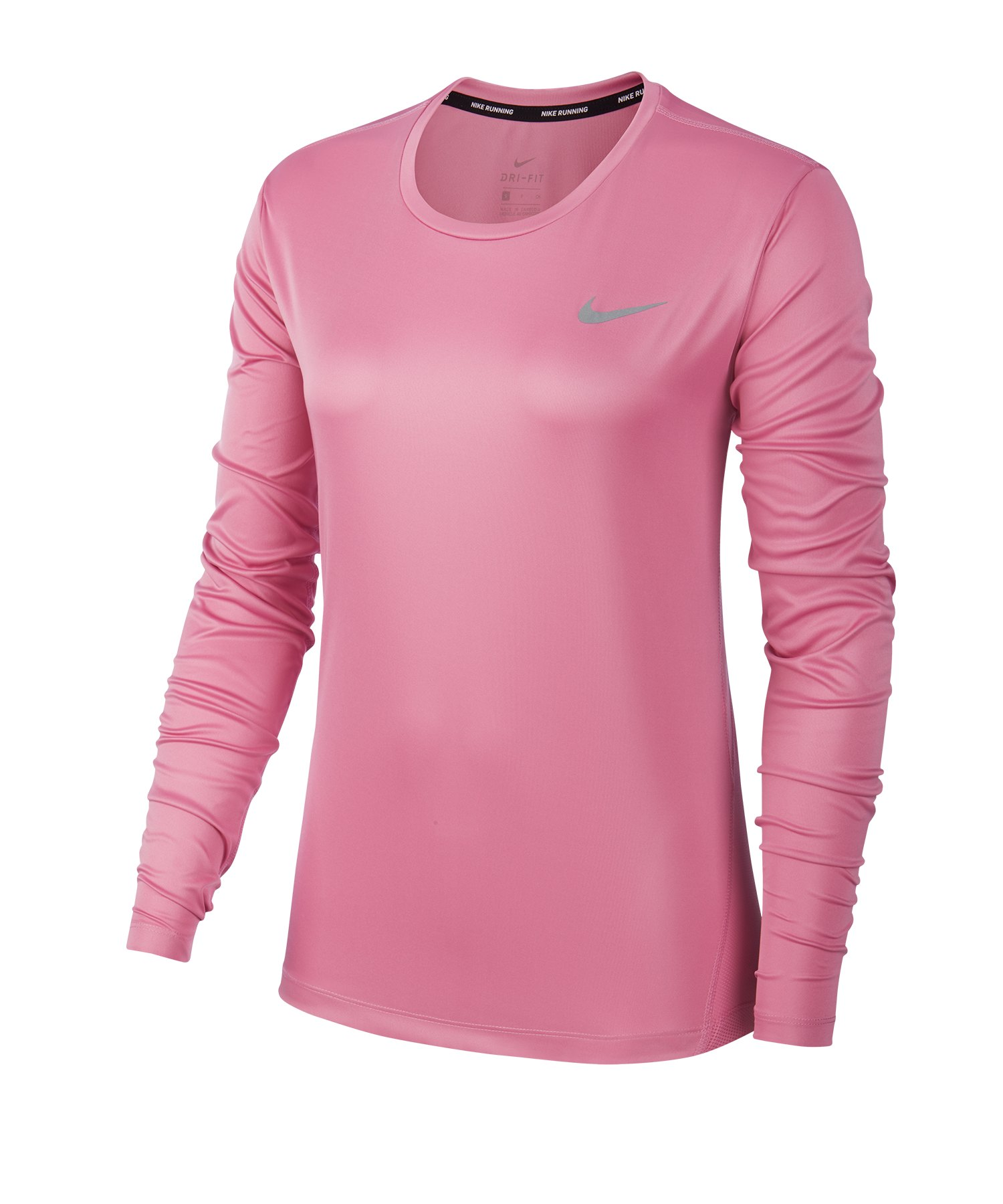 Nike Damen DRI FIT Sport Running Fitness Langarm Shirt
