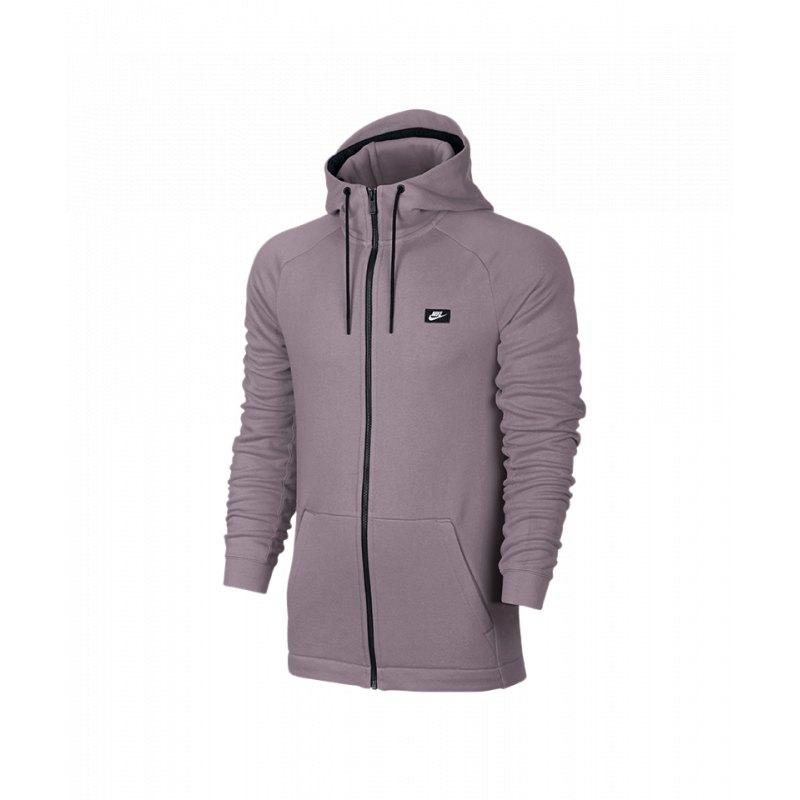 5d5da2caa7df Nike Modern FZ Hoody Kapuzenjacke Lila F694   Streetwear ...