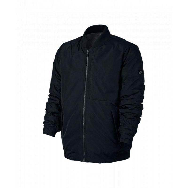 nike modern jacket jacke schwarz grau f010 freizeit. Black Bedroom Furniture Sets. Home Design Ideas