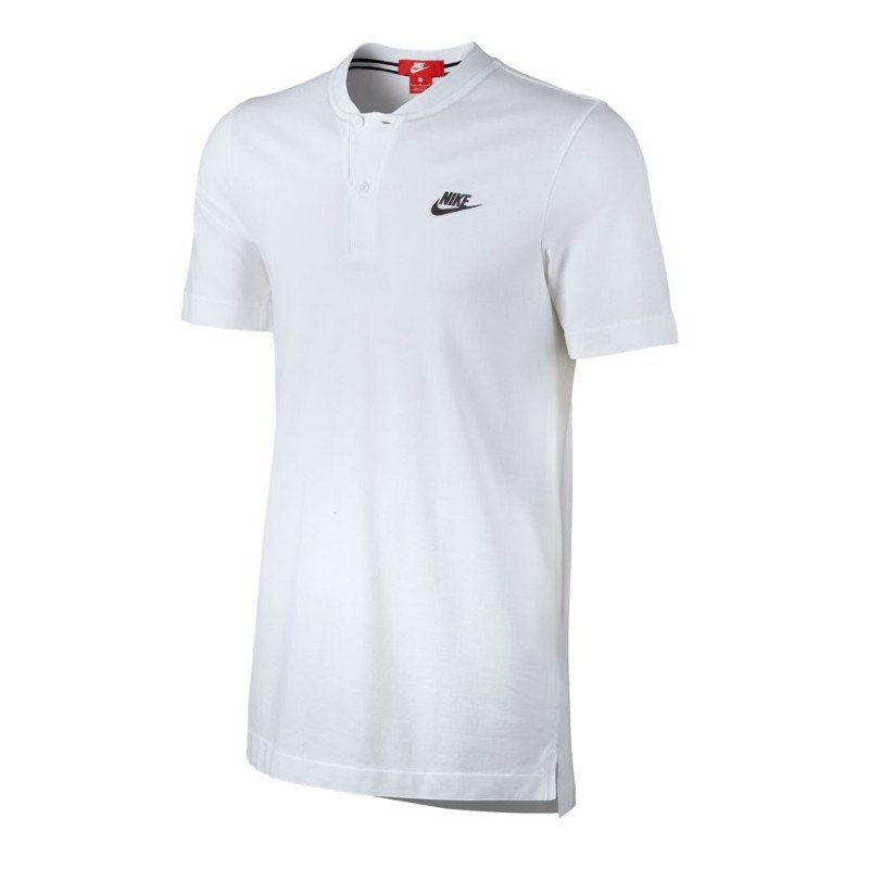 nike modern poloshirt weiss f100 kurzarm shirt. Black Bedroom Furniture Sets. Home Design Ideas