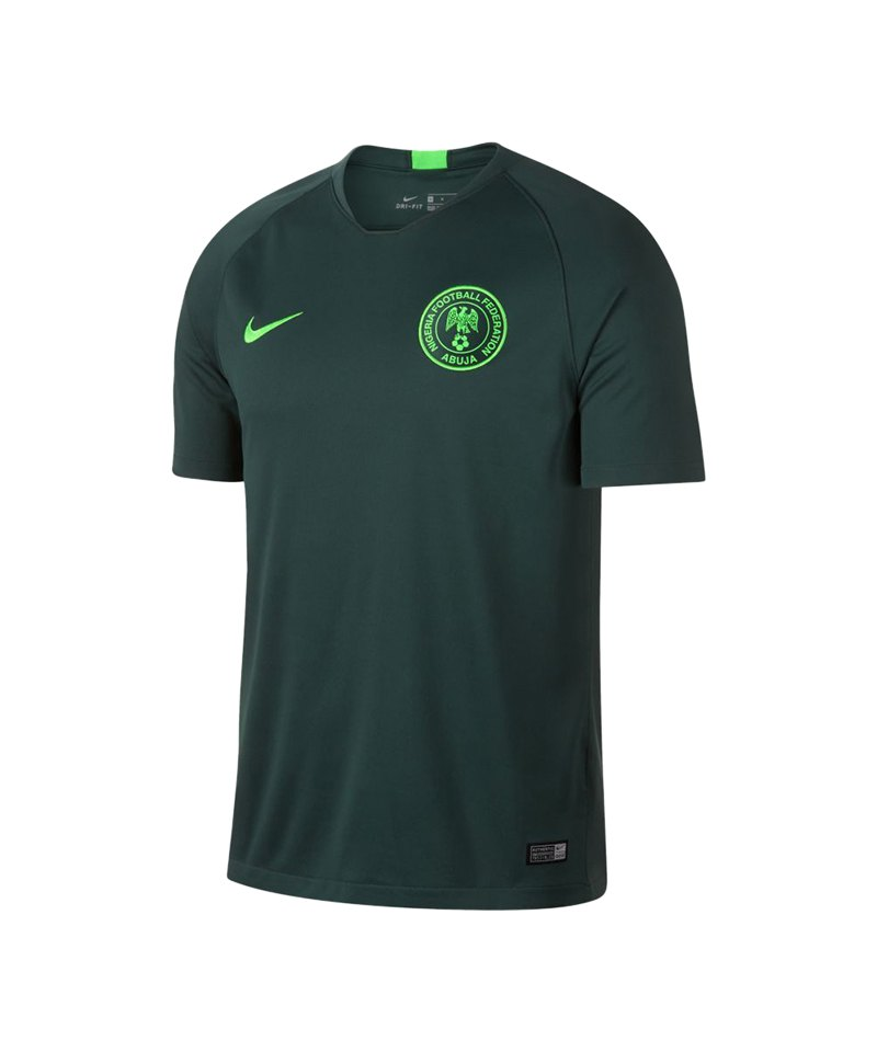 Nike Nigeria Trikot Away WM 2018 Grün F397 | Replica