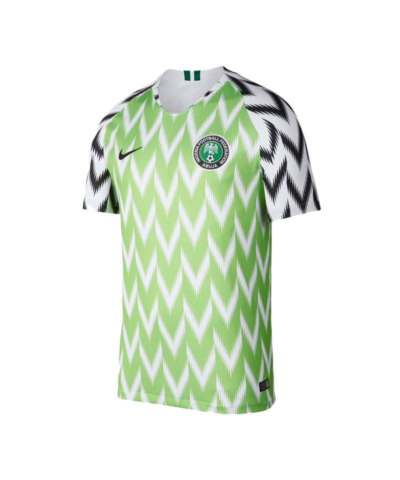 best authentic cb151 4f2ff Nike Nigeria Trikot Home WM 2018 Weiss F100 - weiss