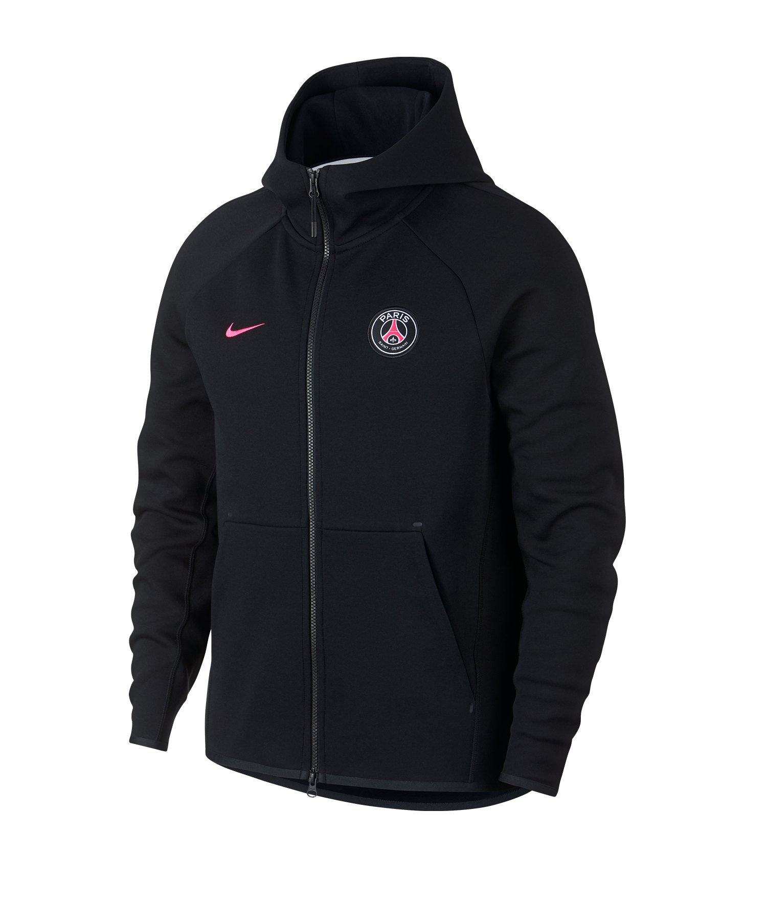 brand new 3d4e7 f3404 Nike Paris Saint Germain Tech Fleece Jacke F010 - schwarz