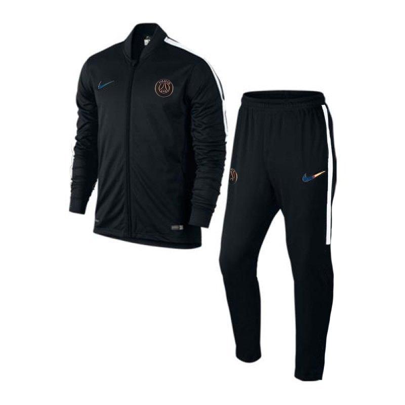 nike paris st germain track suit squad anzug f014. Black Bedroom Furniture Sets. Home Design Ideas