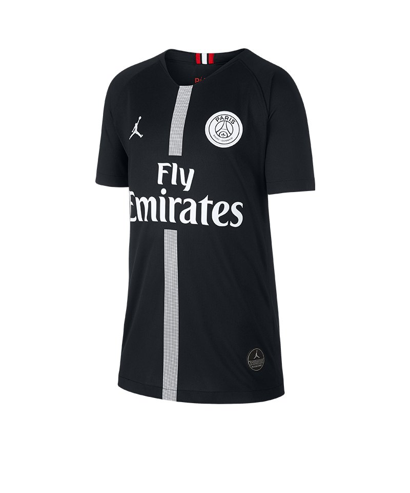 online store 38777 bd3b5 Jordan Paris St. Germain Trikot UCL Kids 2018 2019 F012 - schwarz