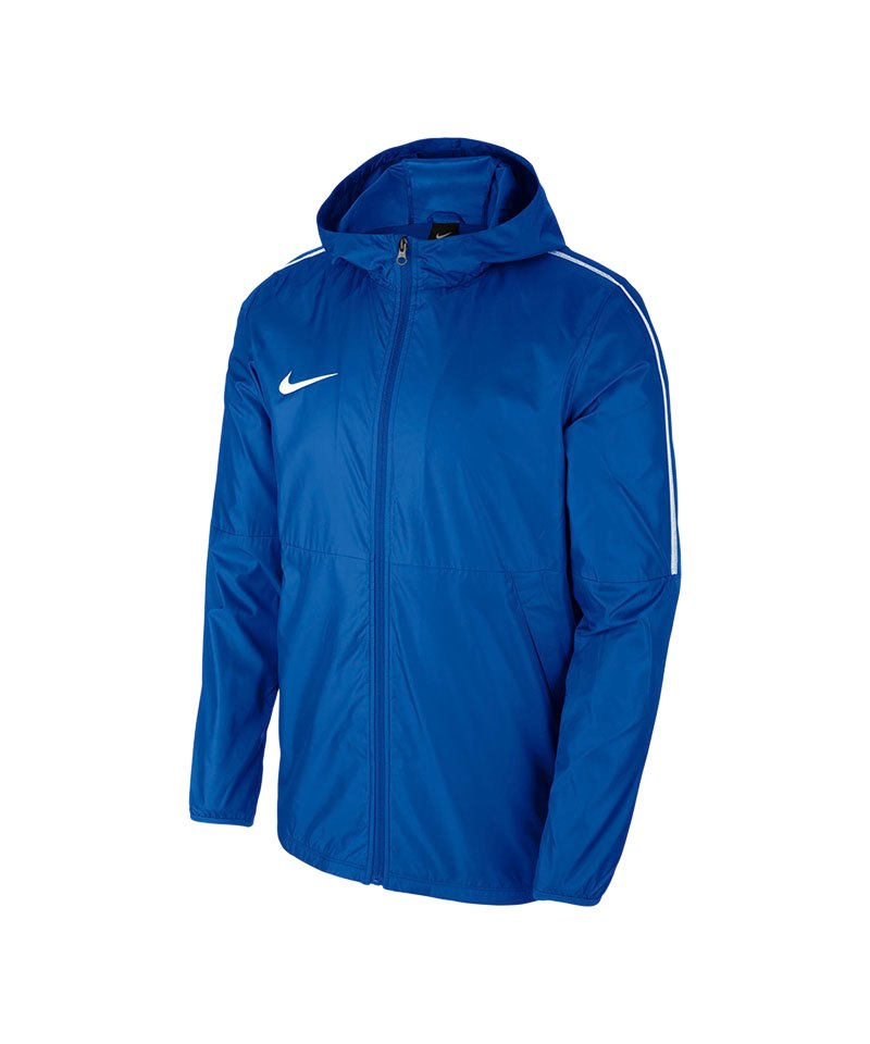 492fba89c0edd Nike Park 18 Rain Jacket Regenjacke Kids F463 - blau